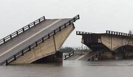 Corrientes: Hallaron el cuerpo del hombre desaparecido tras el derrumbe de un puente