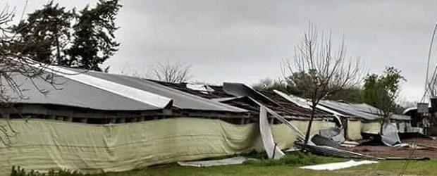 Daños: La Provincia ayudará a los productores afectados por el temporal en Líbaros