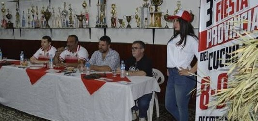 Presentaron ante la prensa local la 3ra. Fiesta Provincial del Cuchillero