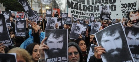"""La familia de Maldonado: """"No es posible establecer la identidad ni las causas de muerte"""""""