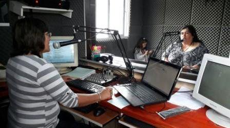 SAUCE DE LUNA: Nancy Miranda visitó los estudios de Fm Ciudad para anunciar un gran logro para la sociedad