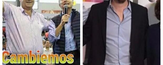 Lacoste junto a Marcos Peña que también se anota en el cierre de campaña de Cambiemos en Entre Ríos