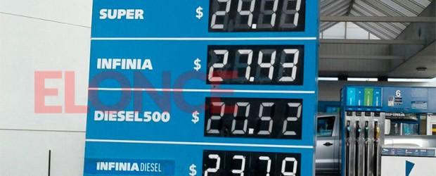 Incrementos entre 10 y 12 por ciento: La suba de los combustibles llegó a Paraná: Los nuevos precios