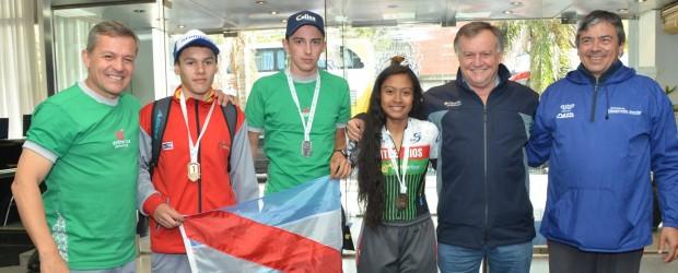 Llegaron las primeras medallas para Entre Ríos de los Juegos Evita