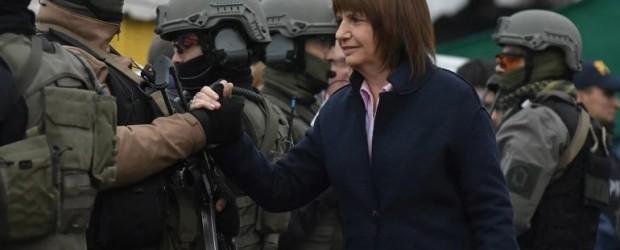 El comunicado del Ministerio de Seguridad donde justifica la represión a los mapuches