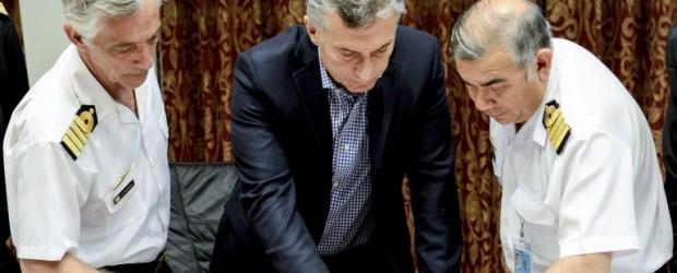 Macri se adjudicó la ayuda internacional por la búsqueda del submarino y desconoció el sistema Ismerlo