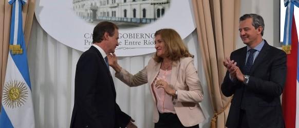 """""""Rosario Romero tiene el total respaldo de mi gobierno para llevar adelante sus funciones"""""""