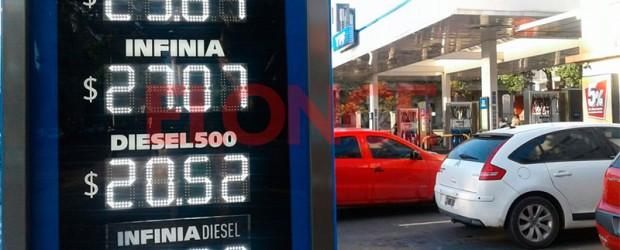Por pedido del gobierno: La suba de los combustibles es un hecho, pero se hará en dos etapas
