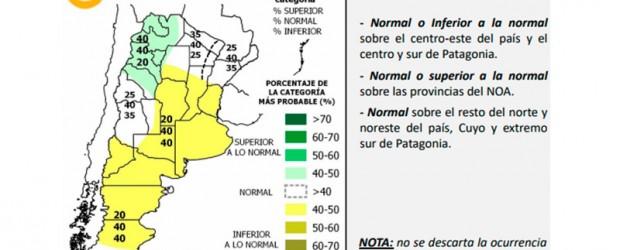 Pronostican un verano con menos lluvias que lo normal en Entre Ríos