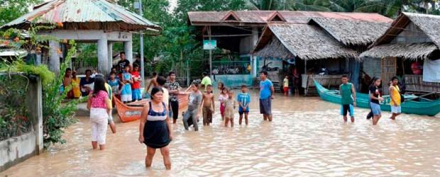 Más de 120 muertos tras una tormenta tropical en Filipinas