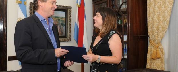 Bordet formalizó la designación de Carolina Gaillard al frente de la Secretaría de Turismo y Cultura
