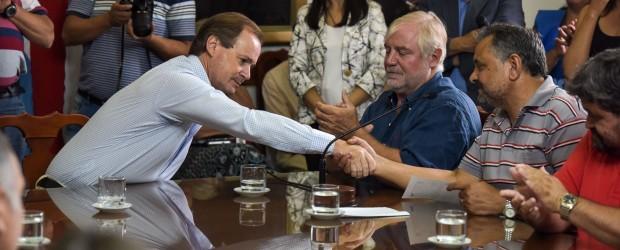 """""""Somos un Estado ordenado"""", afirmó Bordet"""