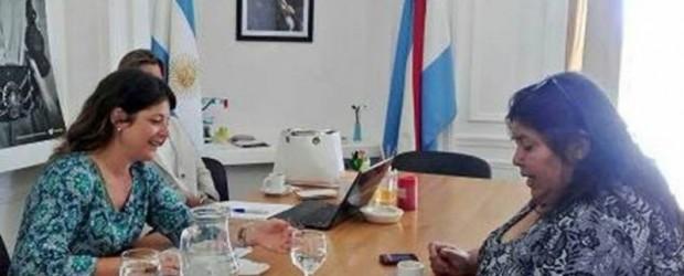 SENADORA: Nancy Miranda mantuvo una reunión con la secretaria de turismo de Entre Ríos