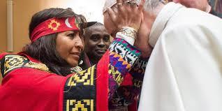 """AMÉRICA LATINA: Contundente advertencia del papa Francisco a los mapuches: """"No se puede pedir reconocimiento aniquilando al otro"""""""