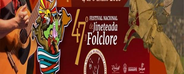 Diamante: Del 4 al 8 de enero 47° Festival Nacional de Jineteada y Folclore