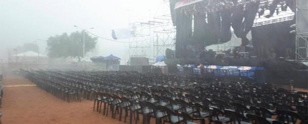 Se canceló la primera noche de la Fiesta de la Playa
