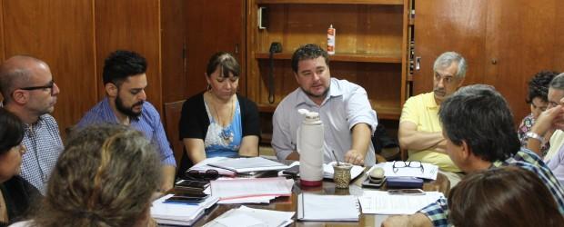 Comenzaron las reuniones de paritaria de infraestructura docente
