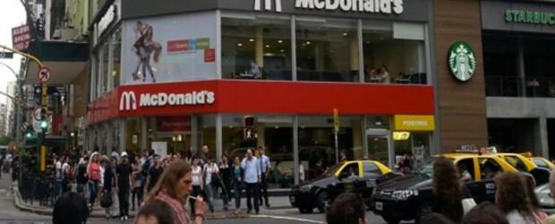 BUENOS AIRES: Otra lamentable actitud de McDonald's desató el enojo en la redes