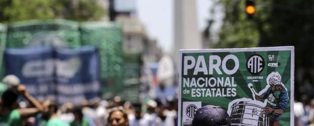 Antes de la marcha, advierten que se puede venir un paro nacional