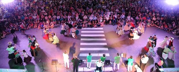 La Banda de Música brindó un concierto folklórico en Paraná