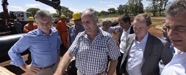 """""""Lo importante es ponerse de acuerdo para resolver los problemas de nuestros vecinos"""", dijo Bordet"""