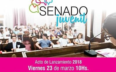 En el Centro Provincial de Convenciones:  Este viernes se realizará el acto de lanzamiento del Senado Juvenil 2018