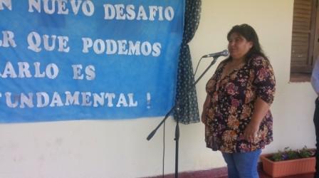 La Senadora Provincial Nancy Miranda anunció dos importantes creaciones para la comunidad educativa de Loma Limpia y Las Delicias.