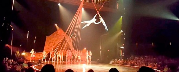Ocurrió en Estados Unidos : Murió un acróbata de Cirque du Soleil al caer desde 4 metros en un show