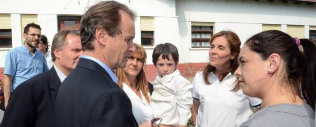 El gobernador inaugurará el ciclo lectivo en la escuela Vieytes de Aranguren