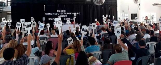PARITARIA DOCENTE: Agmer espera una propuesta superadora y ratifica el plan de acción