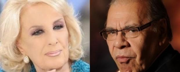 Enrique Pinti defenestró a Mirtha Legrand por las acusaciones de pedofilia