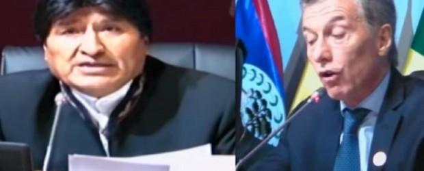 El cruce de discursos entre Evo Morales y Mauricio Macri en la Cumbre de las Américas