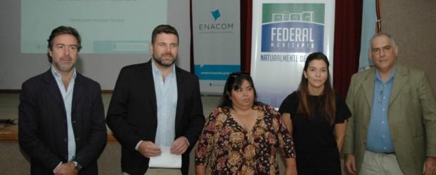 """Chapino y Miranda participaron del programa """"Municipios Conectados"""""""