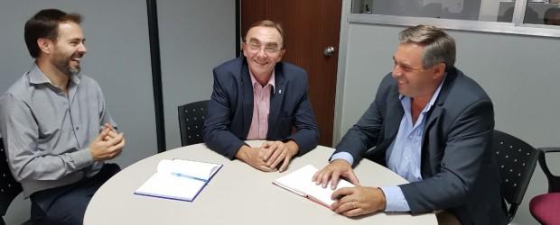 CONSCRIPTO BERNARDI: La gestión Boxler sigue trabajando en diversas gestiones para la comunidad