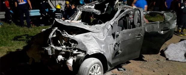 Falleció el hombre que desencadenó tremendo choque sobre Ruta 12