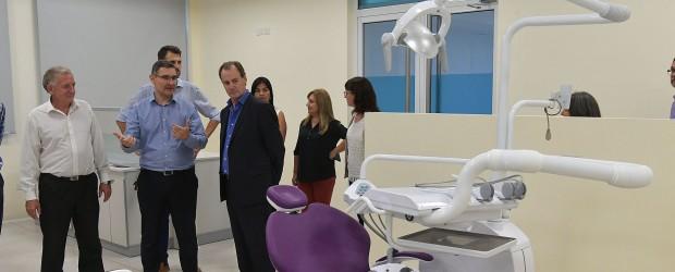 Presentaron a Bordet las nuevas instalaciones de la Universidad Adventista del Plata para la carrera de odontología
