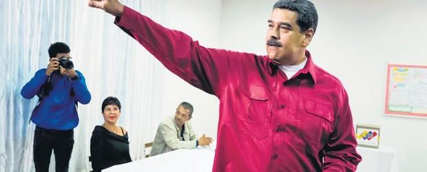 Maduro fue reelecto, Falcón no lo reconoció