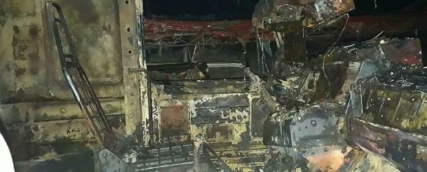SAUCE DE LUNA: Se incendió un corralón de materiales de construcción