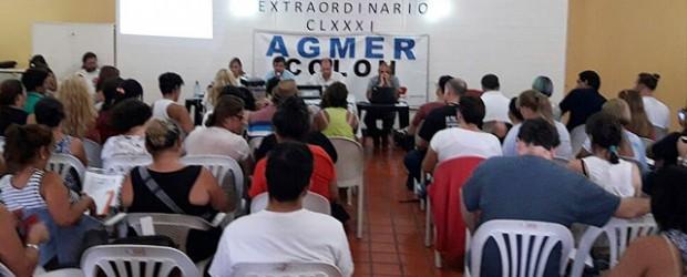 Agmer define el viernes si acepta el 19% de aumento del Gobierno