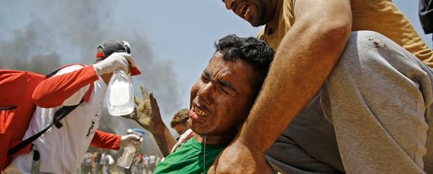 Represión Israelí: Ascienden a 59 los muertos por masacre en la frontera de Gaza