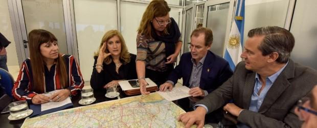 Bordet convocó a su gabinete para monitorear la asistencia a los afectados por las lluvias