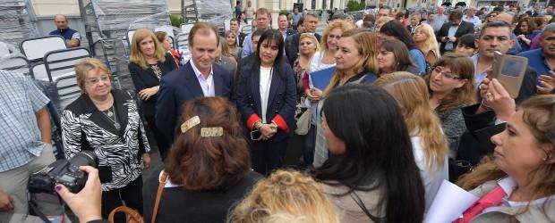Bordet ratificó su compromiso con los trabajadores entrerrianos