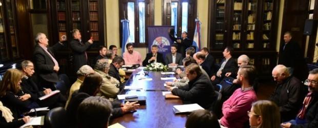 Habrá una reunión con 57 representantes de juntas de gobierno para discutir la Ley de Comunas