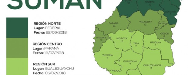 ESTE VIERNES: Debate en Federal por la ley de comunas en la región centro