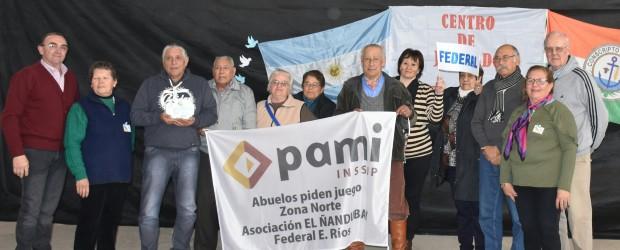 La actividad se realizó en el polideportivo municipal de Conscripto Bernardi: Allí estuvieron miembros de Centros de Jubilados de distintas localidades.
