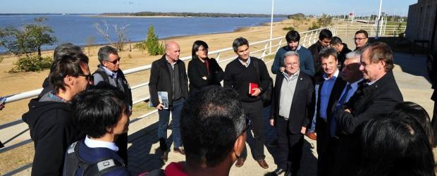 Bordet acordó con equipos del BID obras de saneamiento para el río Uruguay