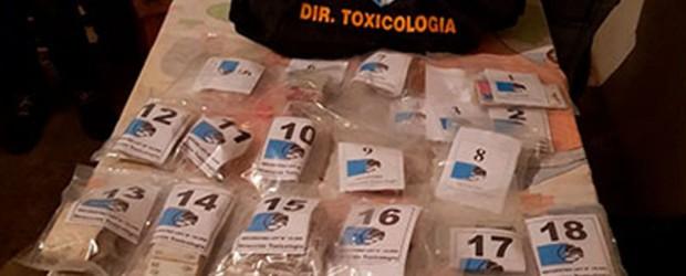#Narcotráfico: Secuestraron droga con la marca de un pescado como la de Celis