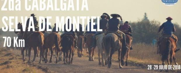 "FEDERAL: Este fin de semana se desarrolla la 2da cabalgata ""Selva de Montiel"""