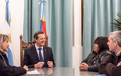 VICEGOBERNACIÓN: La Senadora Nancy Miranda se reunió con Bahl por la Ley de Comunas y Reforma alectoral