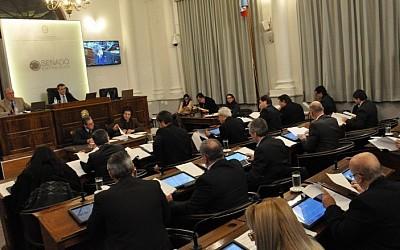 8va. sesión ordinaria: El Senado dio sanción definitiva al proyecto de ley sobre acefalía en el Tribunal de Cuentas